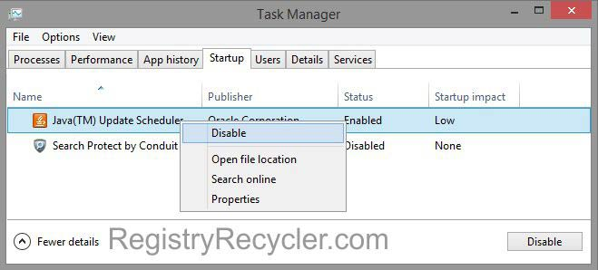 Speed Up Windows 8 by Disabling Startup Programs