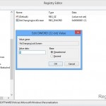 Tweak Windows 8 Registry to Personalize Lock Screen