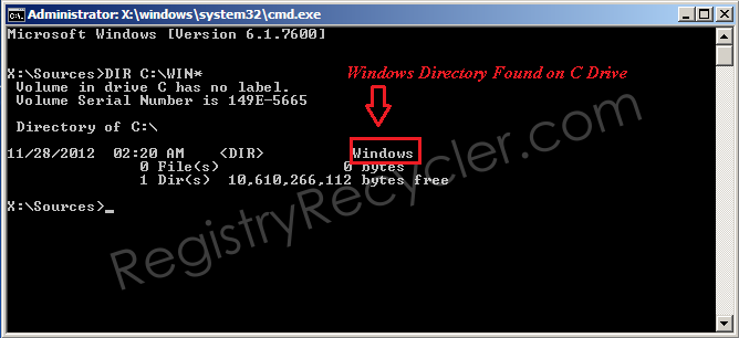 How to Identify Which Drive has Windows Directory