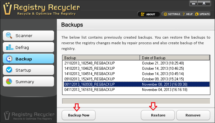 Software to Backup Your Windows Registry