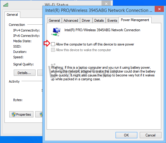 Fix Limited or No Internet Access in Windows 8.1