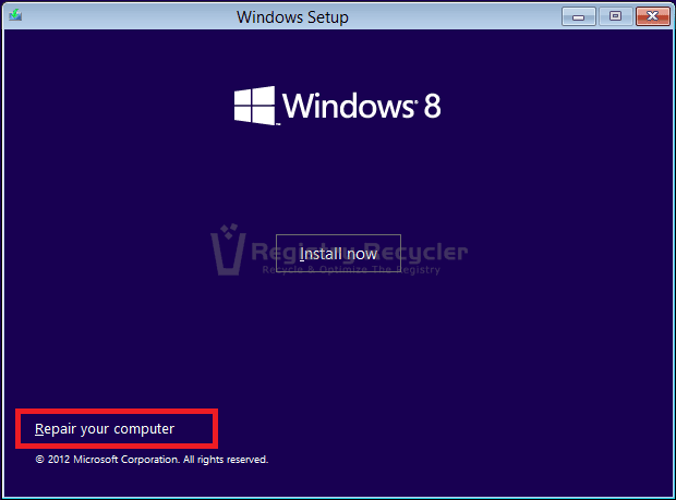 How to Fix Windows 8 Fails to Boot