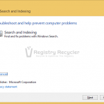 Fix Windows Search Service Failed to Start In Windows 8.1