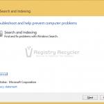 Fix Windows Search Service Failed to Start In Windows 10/8/7