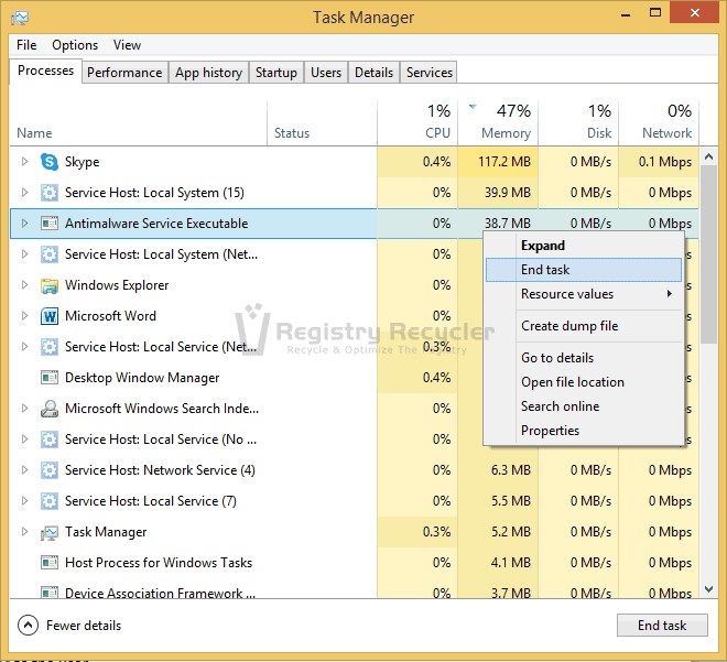Windows 8.1 Memory Optimizing Tips